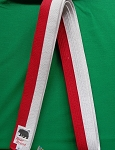 Ranche Belt- Red & White